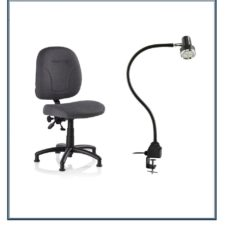 LED Lighting and Ergo Chairs